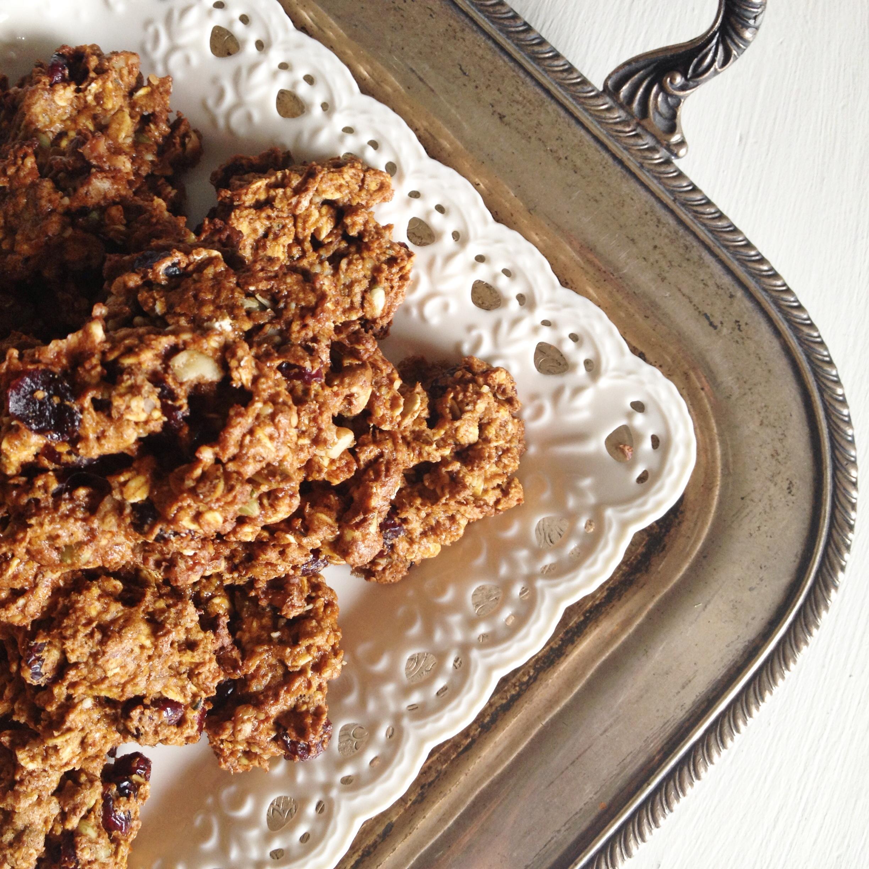 Pumpkin Pie Breakfast Cookies (Gluten-Free) | fraîche