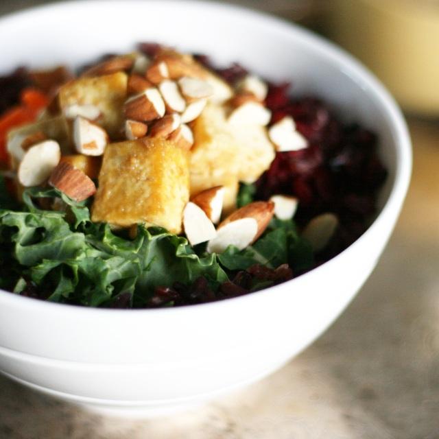 Kale Tofu Glory Bowl