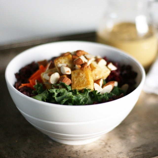 Kale Tofu Glory Bowl